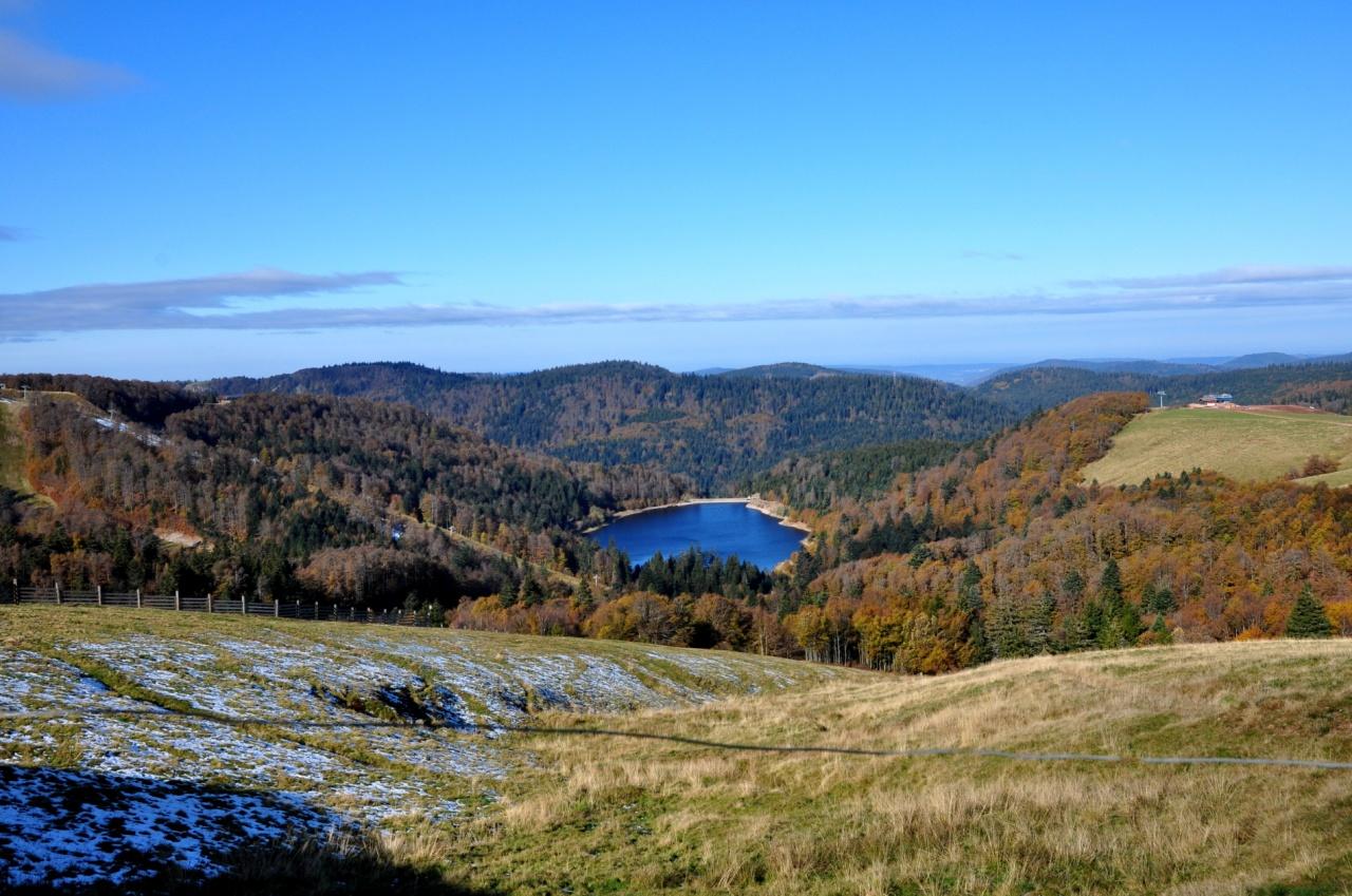 Lac dans les Vosges - Octobre 2011