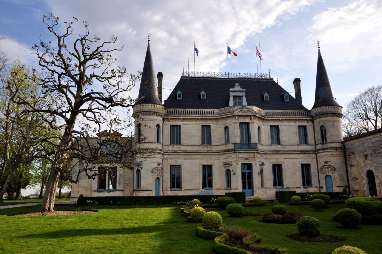 Château de Palmer - Gironde - Avril 2013