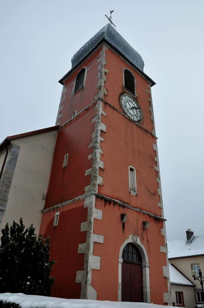 Eglise de Mathay - Doubs - Janvier 2013