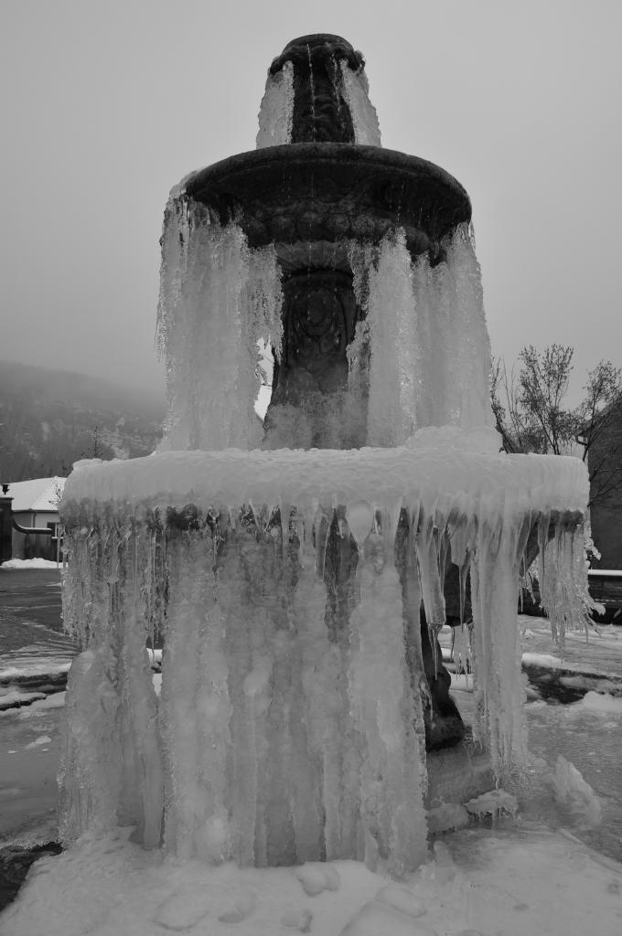 Fontaine de Mathay - Doubs - Janvier 2013