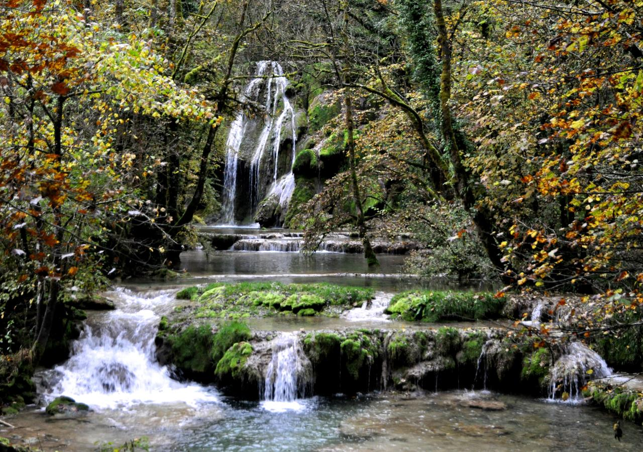Cascades de tufs - Jura - Octobre 2016