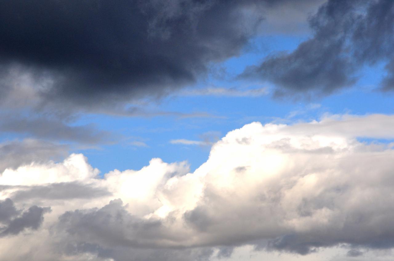 Ciel de traîne en Charente - Novembre 2012