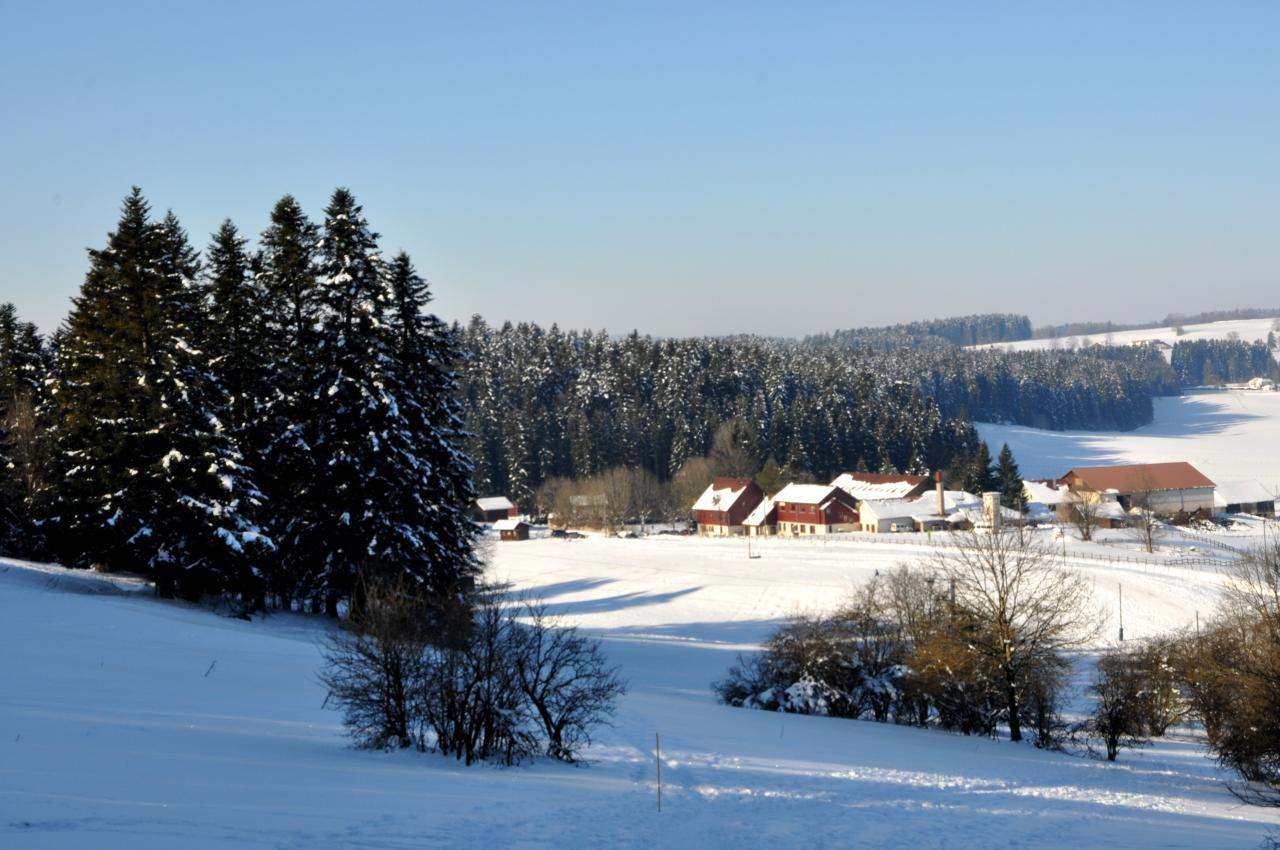 Paysage d'hiver à Charquemont - Doubs - Février 2013