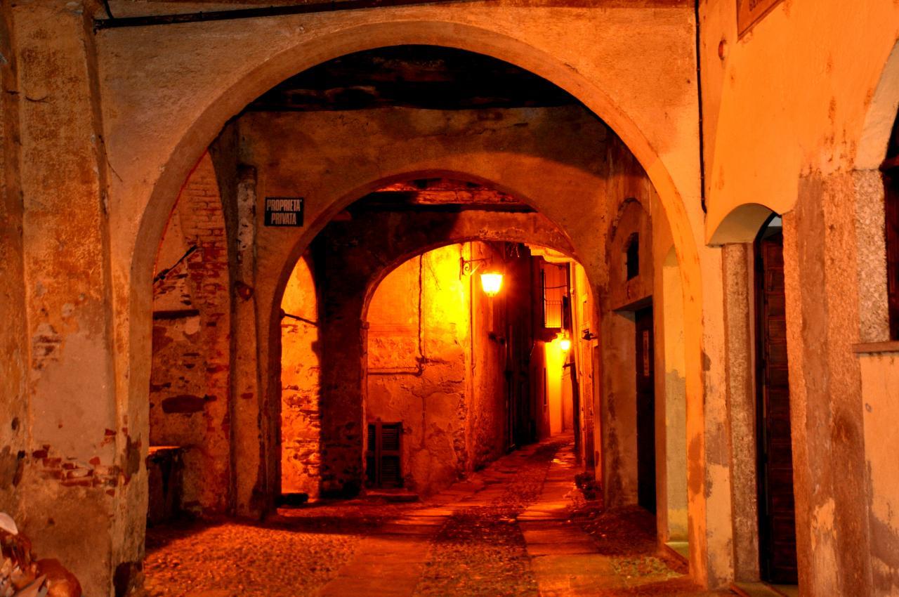 Village d'Orta San Giulio - Piémont - Italie - Août 2012