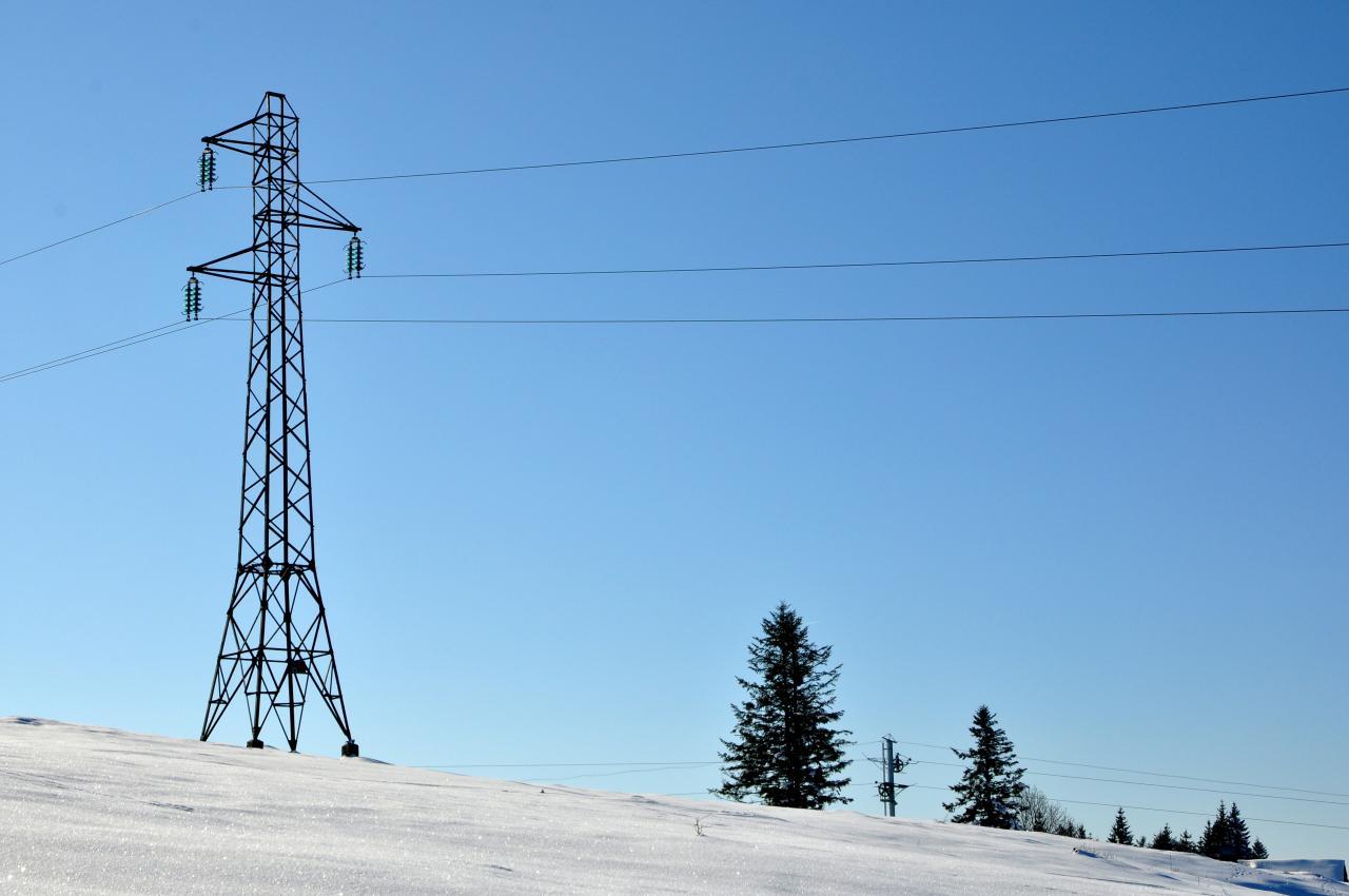 Paysage à Charquemont - Doubs - Février 2013