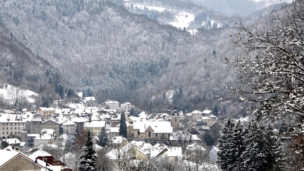 Saint Hippolyte - Doubs - Janvier 2016