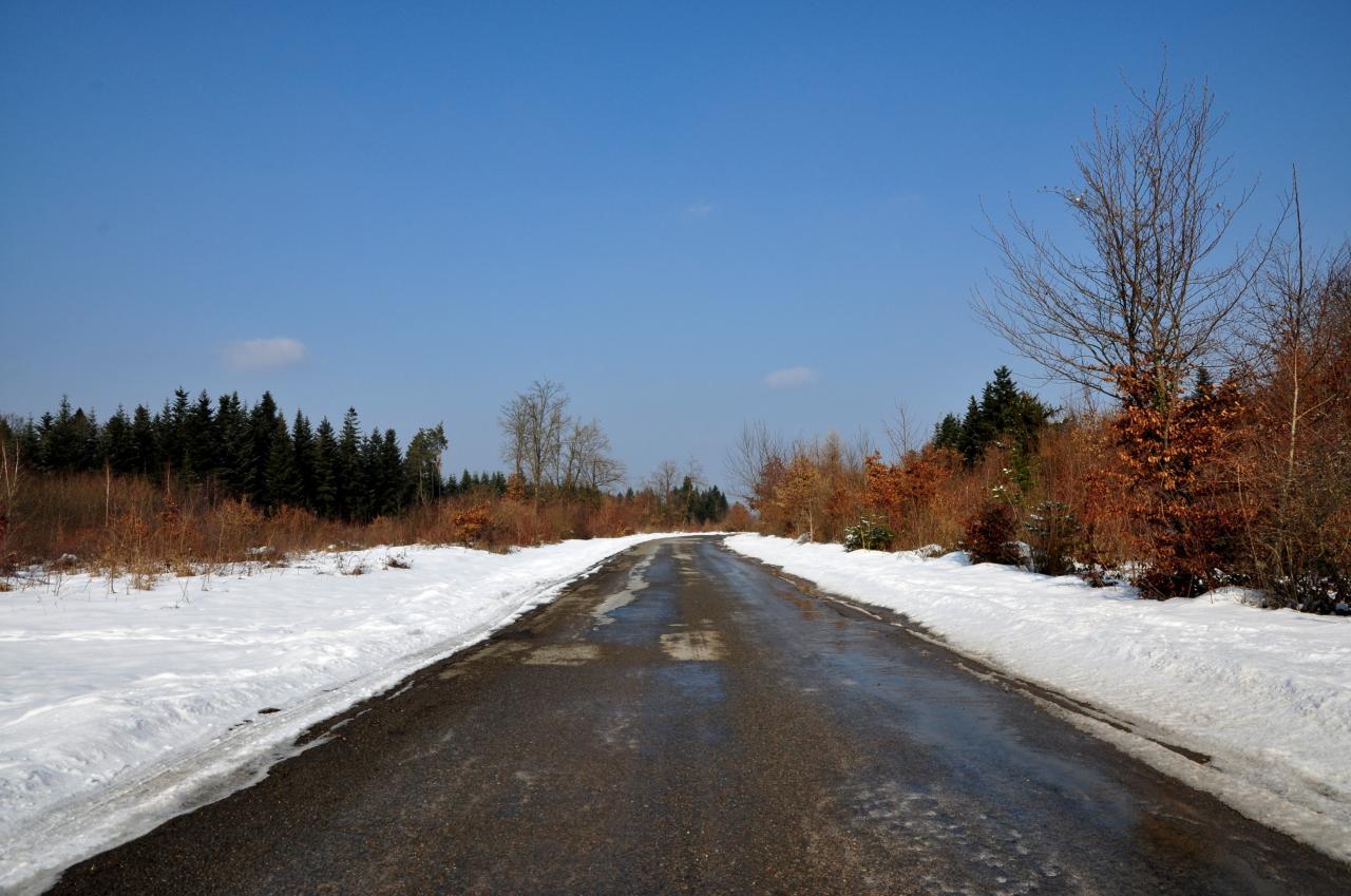 Hauteurs de Mathay - Doubs - Février 2013