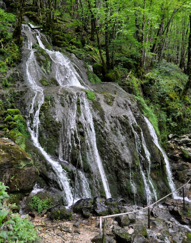La haute vallée de la Loue - Doubs - Mai 2016