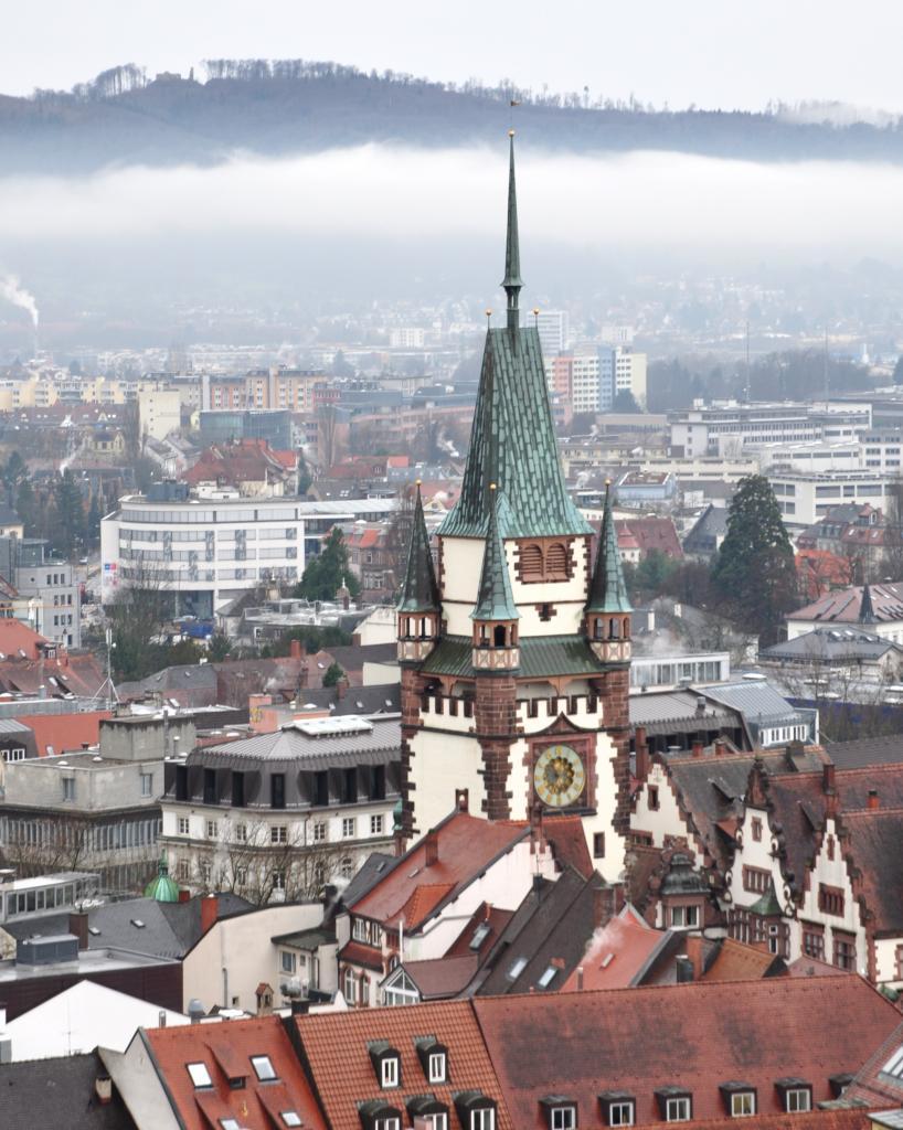 Fribourg-en-Brisgau - Allemagne - Janvier 2016