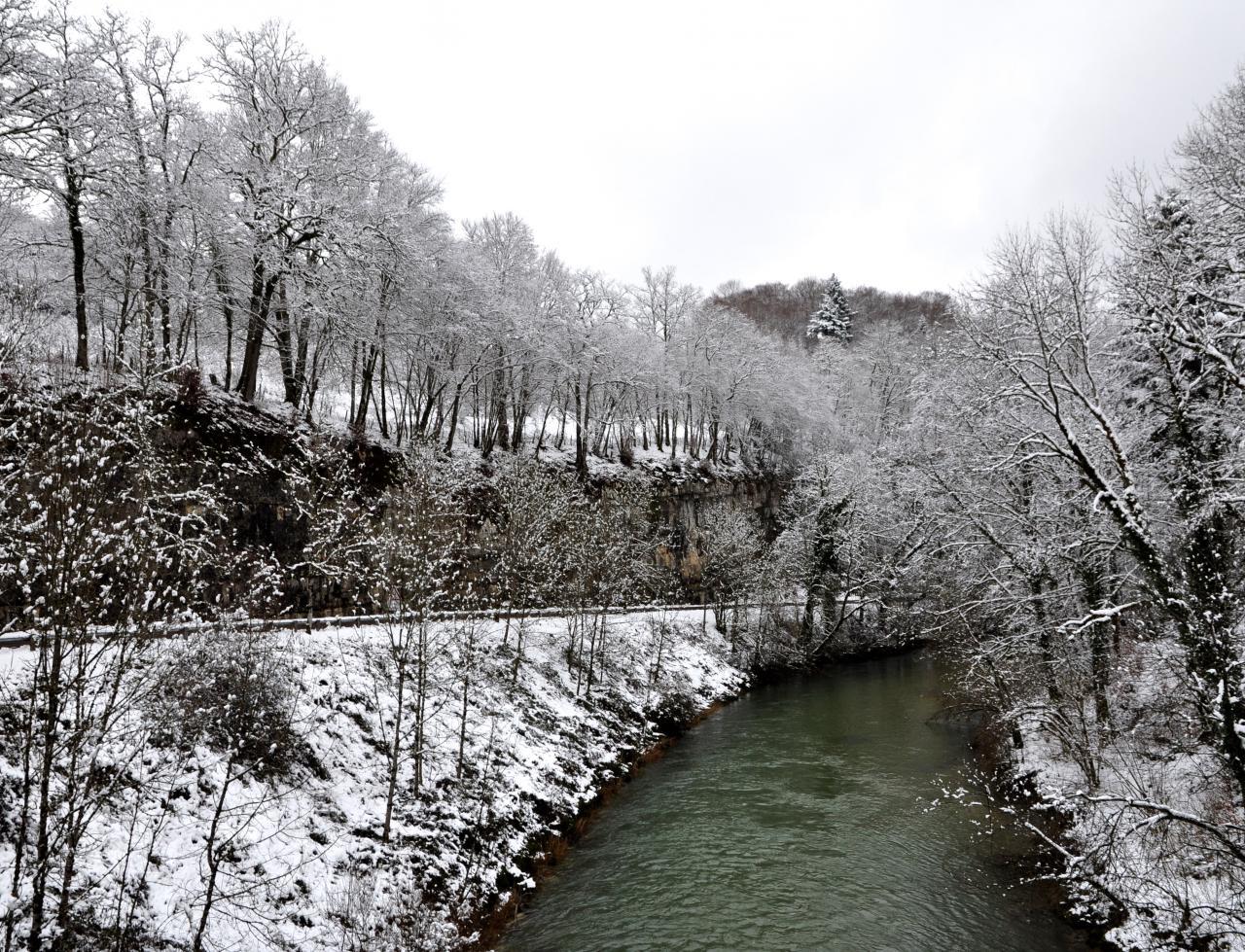 Le Pont Neuf - Doubs - Janvier 2016
