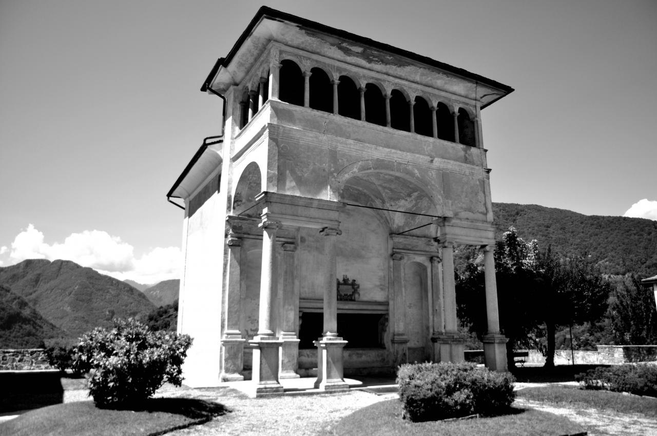 Sacro Monte à Varallo - Piémont - Italie - Août 2012