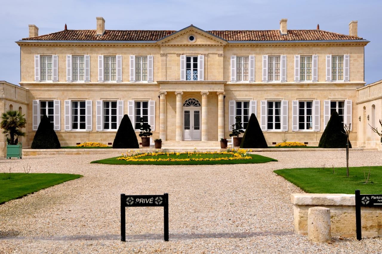 Château au coeur du vignoble bordelais - Gironde - Avril 2013