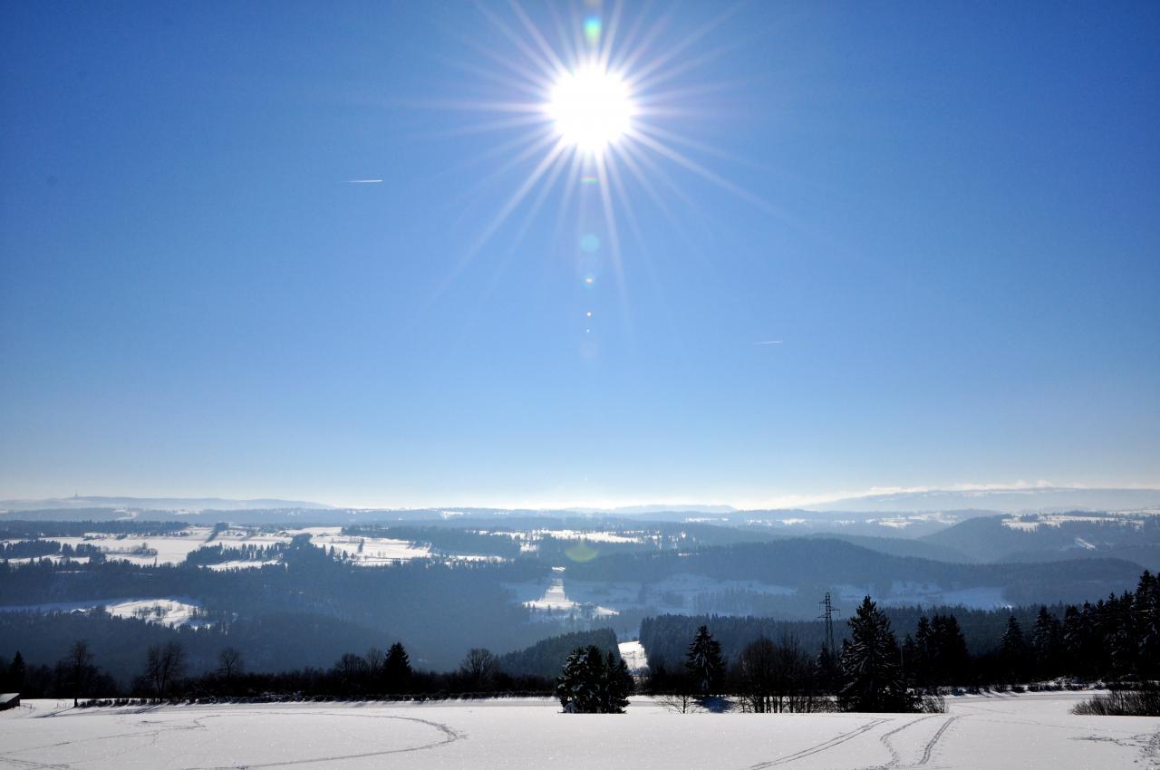 Le Peu - 1046m à Charquemont - Doubs - Février 2013