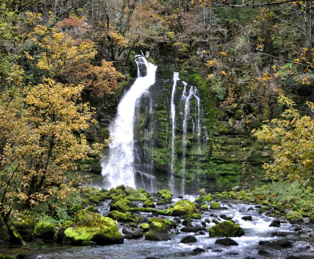 Cascades de Flumen - Jura - Octobre 2016