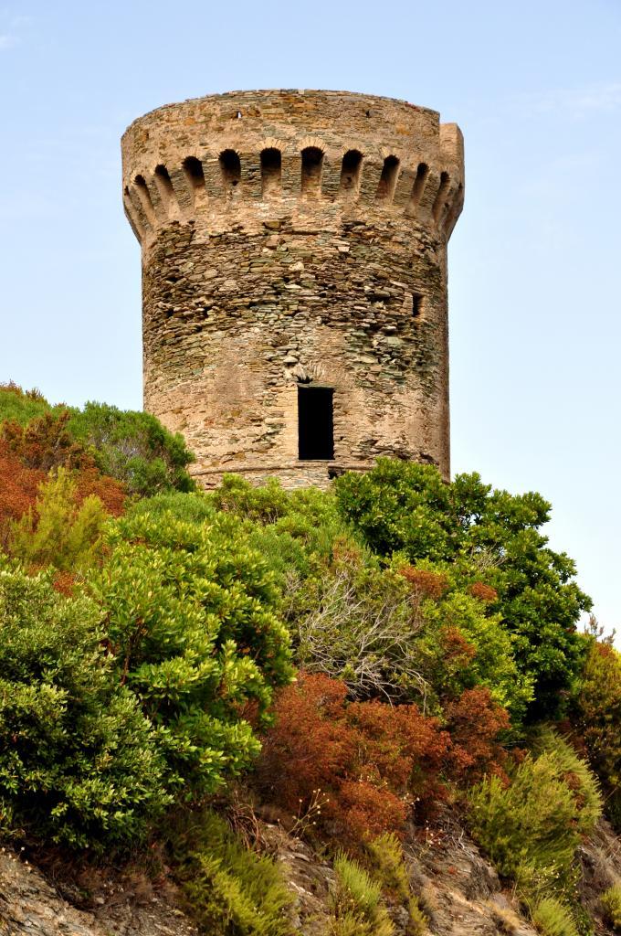 Tour génoise au cap corse - Haute Corse - Août 2013