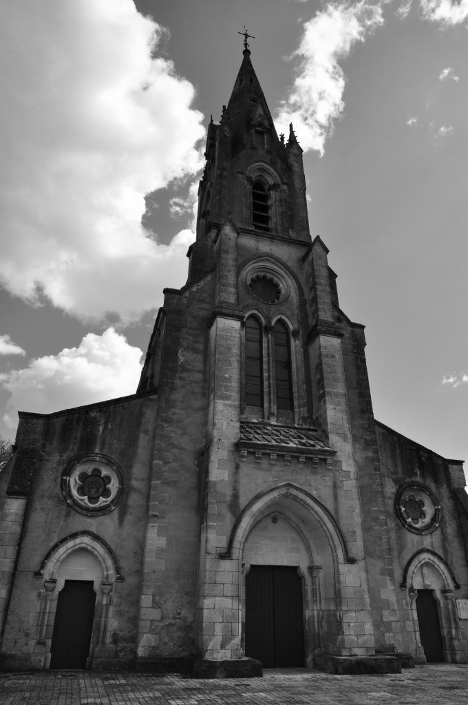 Eglise d'Aigre - Charente - Avril 2013
