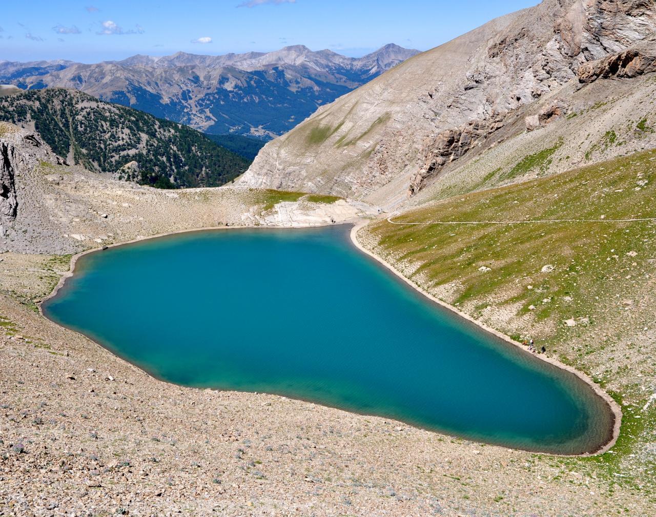 Lac des Garrets - Alpes maritimes - Juillet 2015