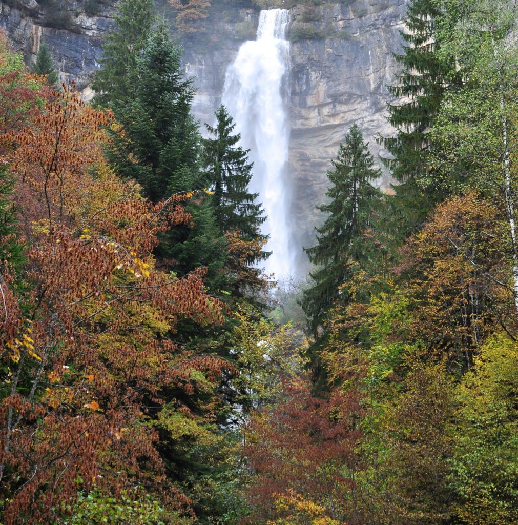 Cascade de la queue de cheval - Jura - Octobre 2016