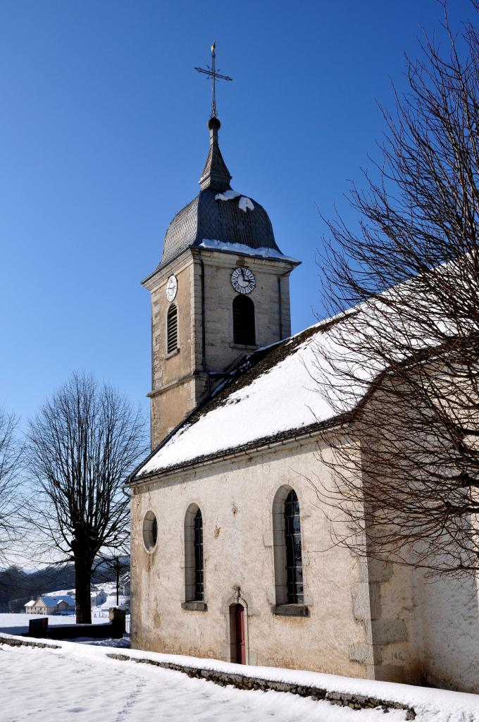 Eglise des Bréseux - Doubs - Février 2013