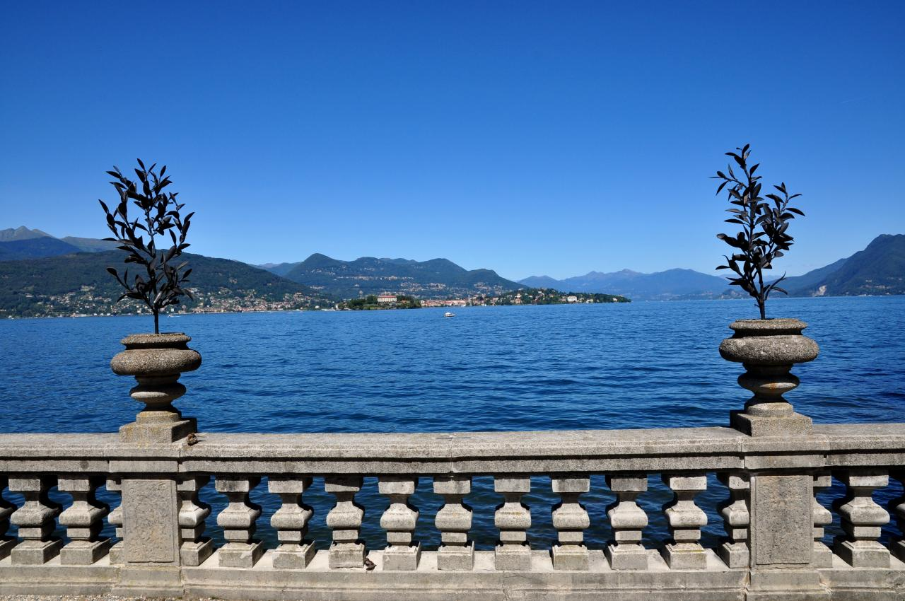 Isola Madre sur le lac Majeur - Piémont - Italie - Août 2012