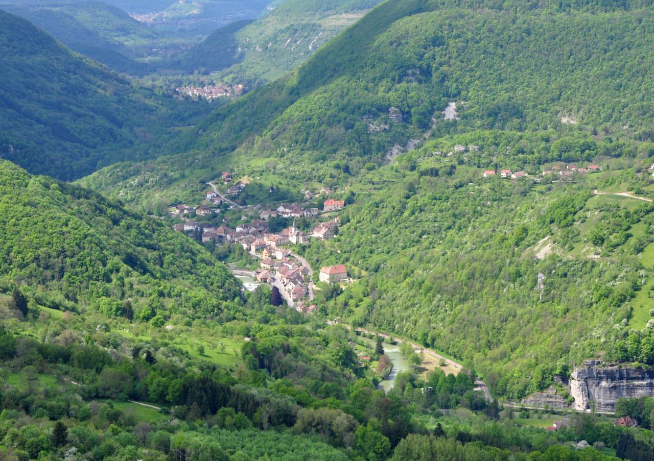 Belvédère du Moine - Doubs - Mai 2016