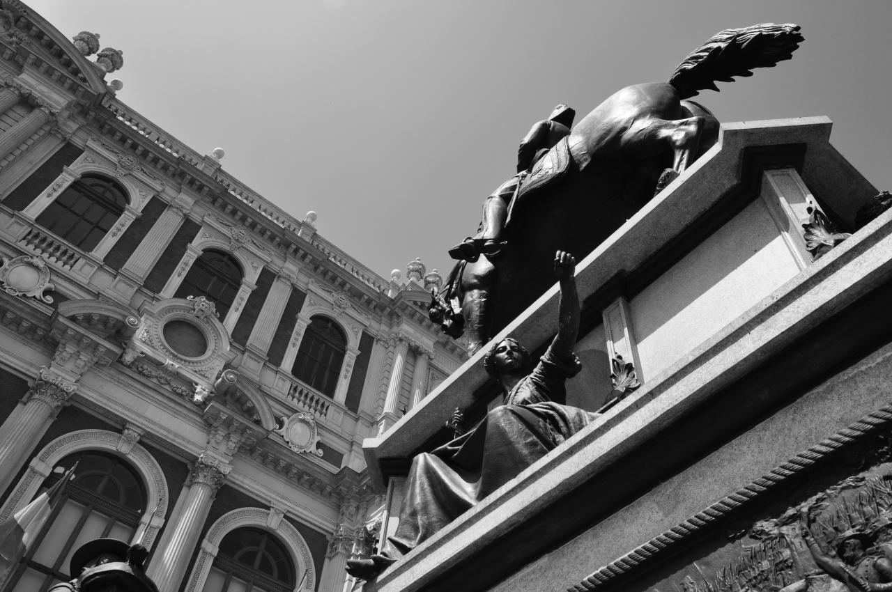 Architecture à Turin - Piémont - Italie - Août 2012