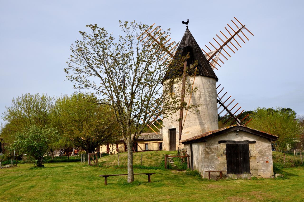 Moulin de Vensac - Gironde - Avril 2013
