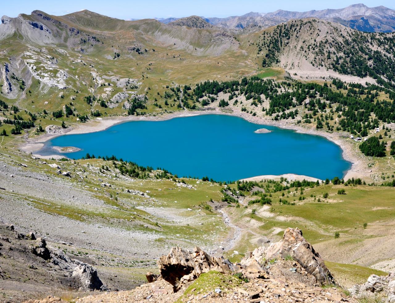 Lac d'Allos - Alpes de Haute Provence - Juillet 2015