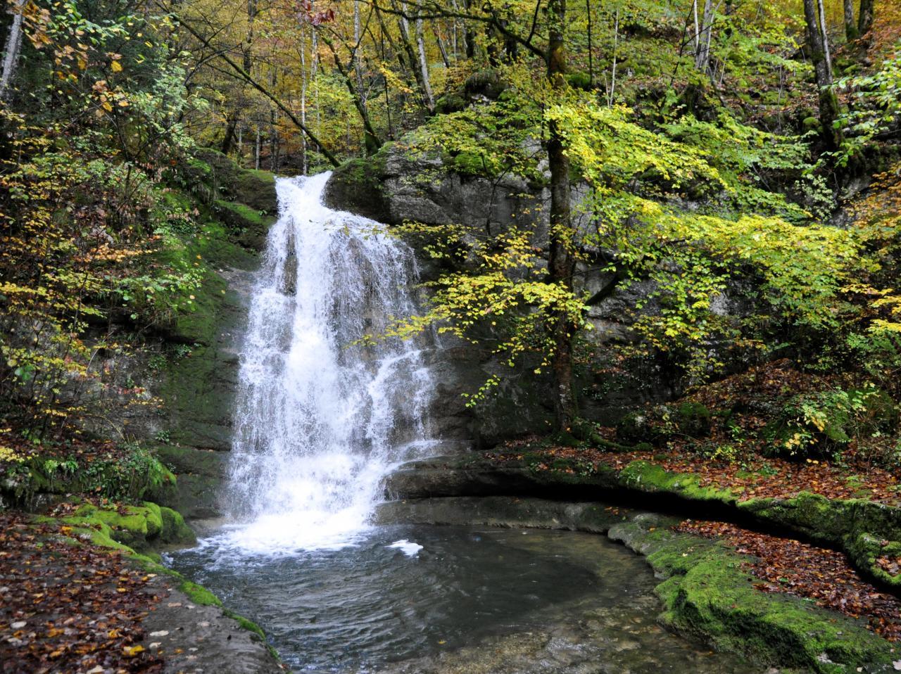 Cascade de Pissevieille - Jura - Octobre 2016