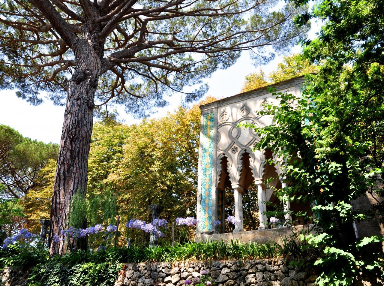 Villa Cimbrone à Ravello - Campanie - Juillet 2017