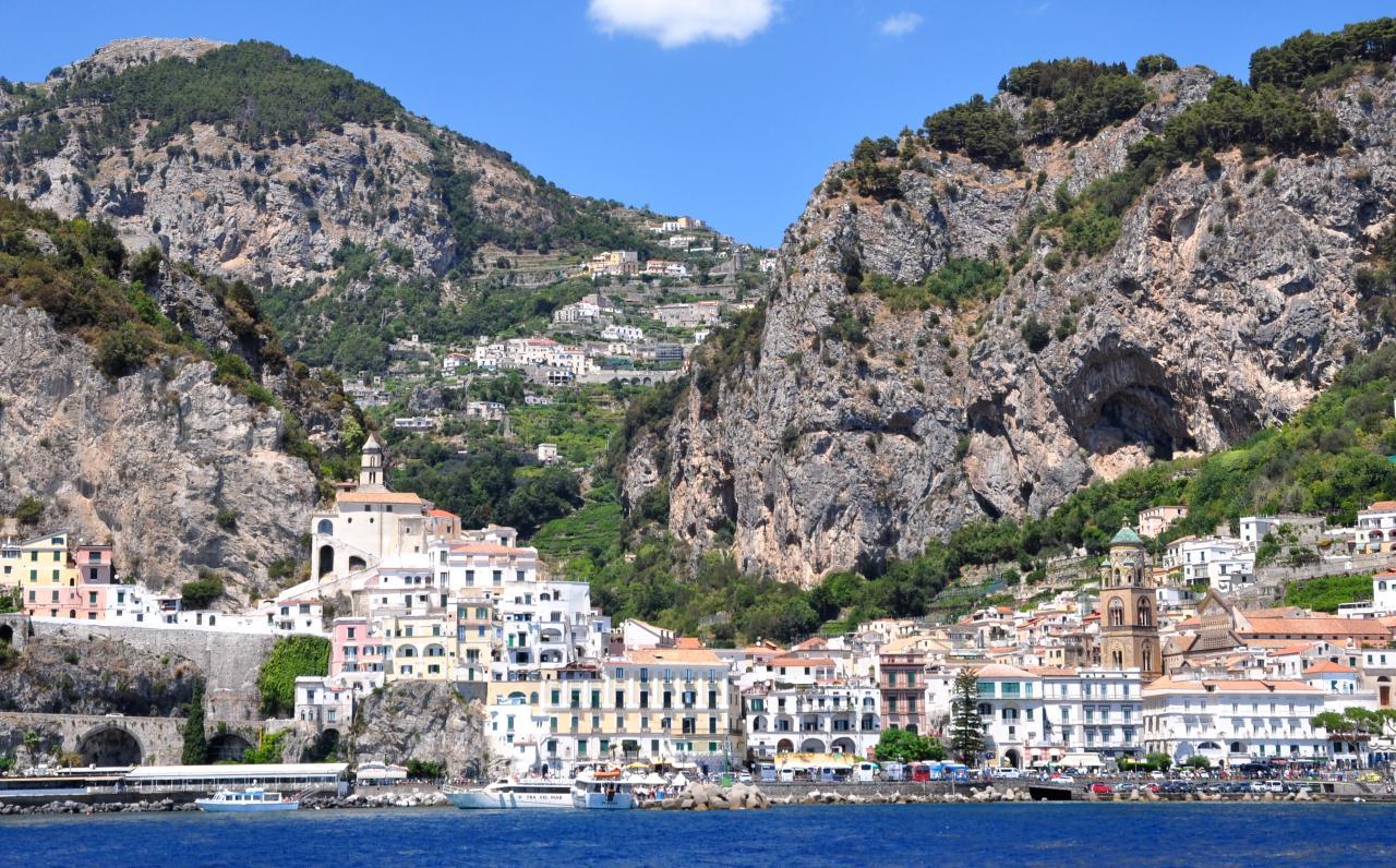Amalfi - Campanie - Juillet 2017