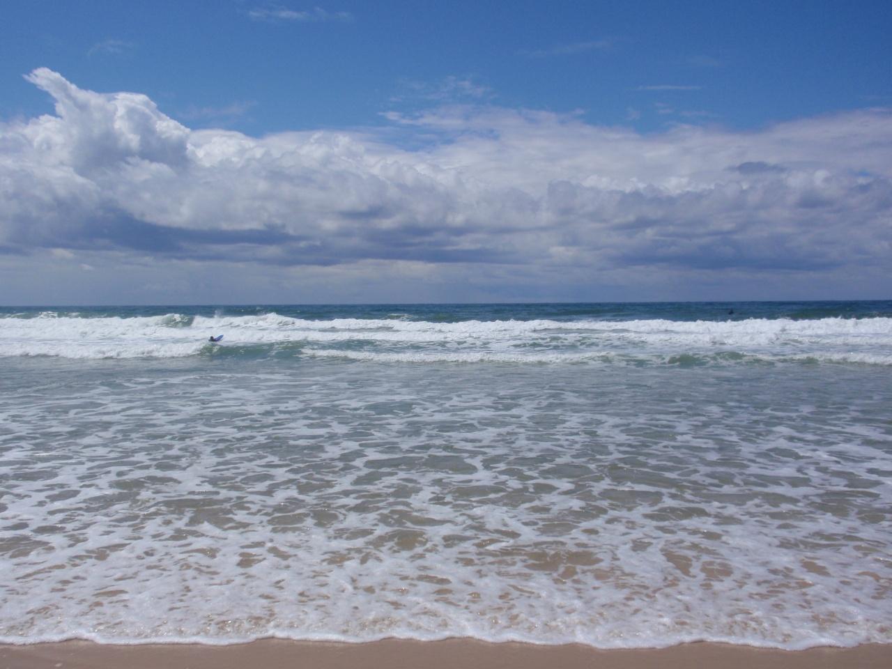 Océan Atlantique à Carcans Maubuisson - Gironde - Juillet 2008