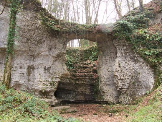 Le Pont Sarrazin à Vandoncourt