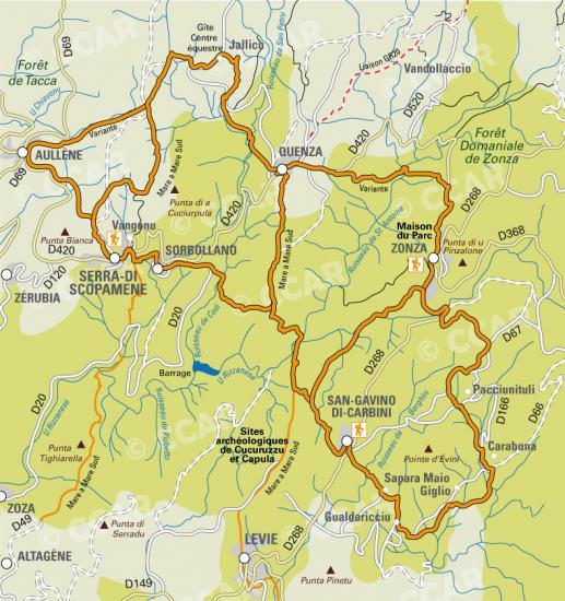 Randonnées en Alta Rocca
