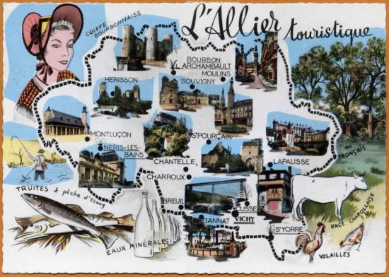L'Allier touristique