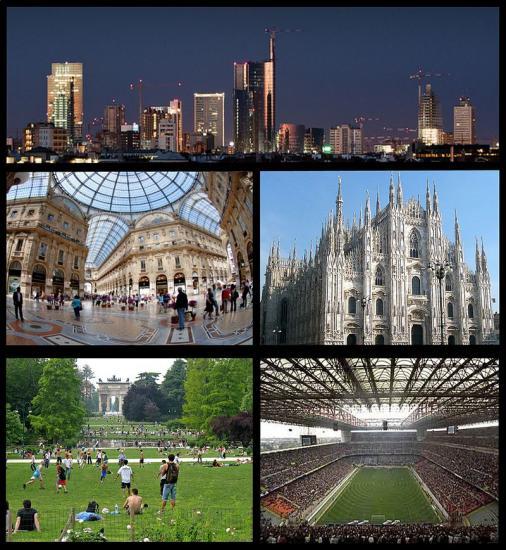 Milan: capitale de la Lombardie