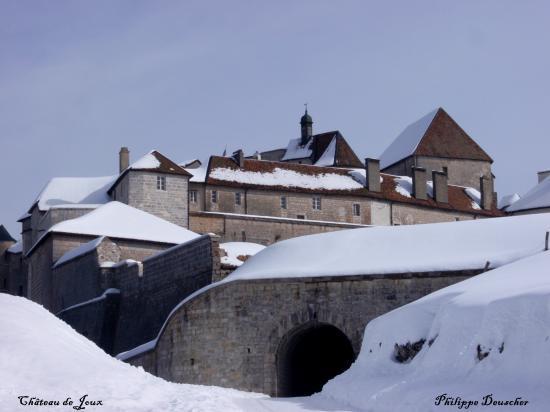 Chteau-de-Joux dans le Doubs