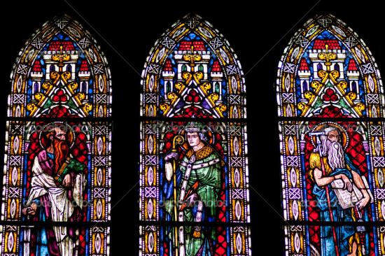 Depositphotos 26440873 stained glass windows of freiburg minster