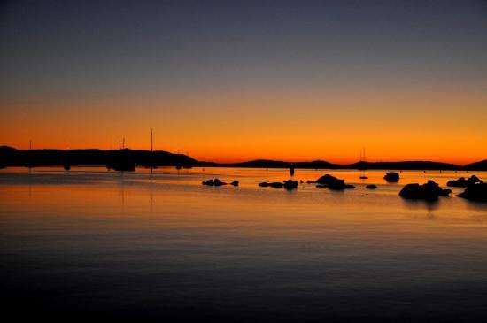 Lever de soleil à Porto-Vecchio - Corse du sud - Août 2013