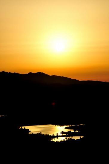 Coucher de soleil à Poggio d'Oletta - Haute Corse - Août 2013