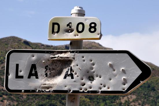 Affichage en Haute Corse - Août 2013