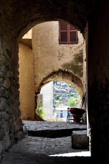 Village corse - Haute Corse - Août 2013
