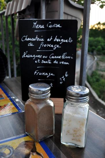 Restaurant à Rapale - Haut Corse - Août 2013