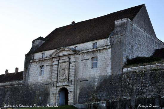 Citadelle de Besançon - Front Saint Etienne - Doubs - Avril 2010