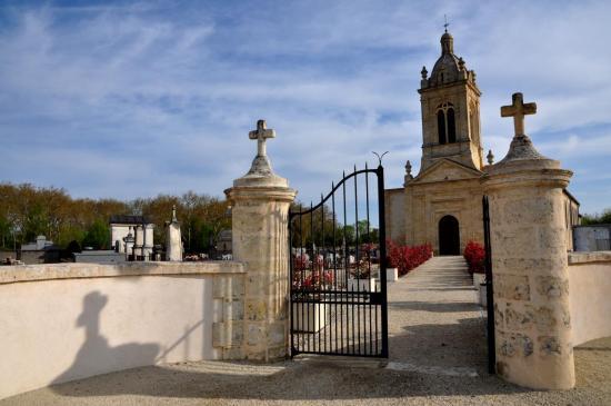 Eglise de Margaux - Gironde - Avril 2013