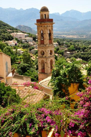 Village en Haute Corse - Août 2013
