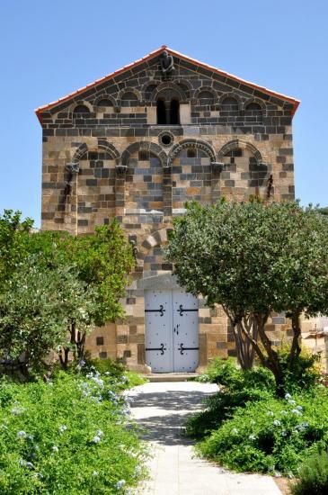Architecture religieuse à Aregno - Haute Corse - Août 2013