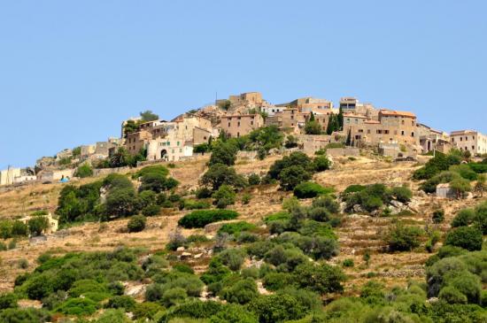 Village de San Antonino - Haute Corse - Août 2013