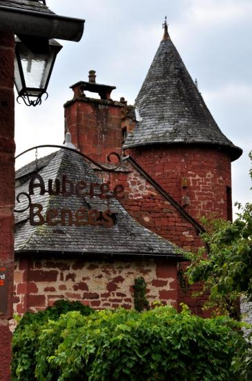 Village de Collonges-La-Rouge - Corrèze - Août 2013