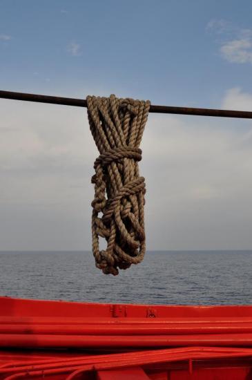 Sur le bateau qui relie Livourne à Bastia - Juillet 2013